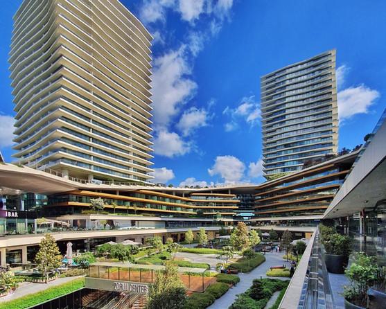 Zorlu Center; designed by Tabanlioglu Architects + Emre Arolat Architects