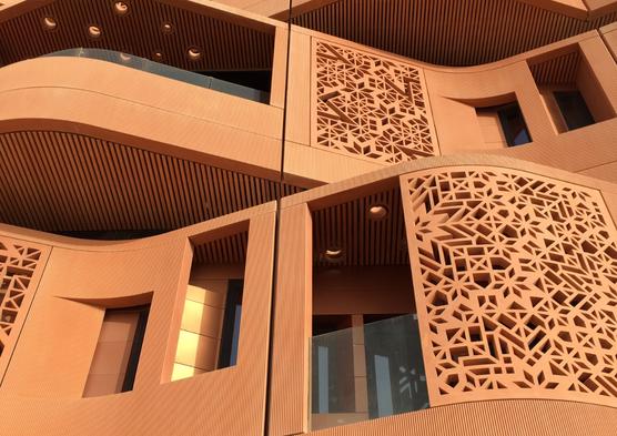 Masdar City; designed by Foster + Partners