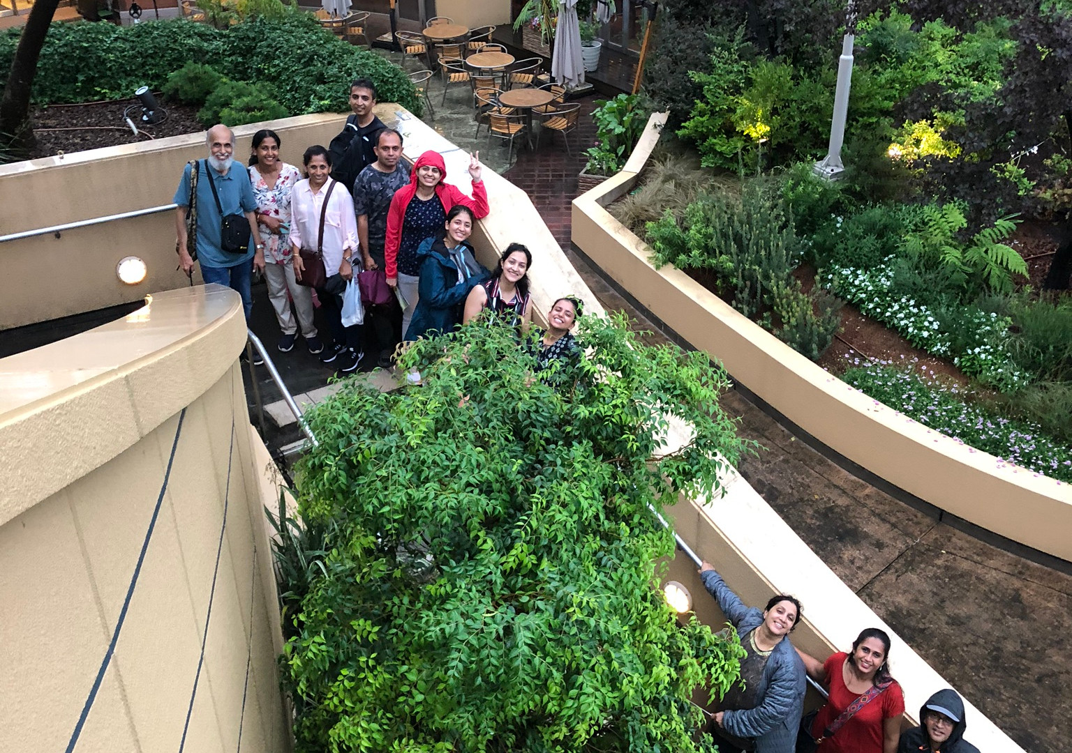 Group at the Namba Parks