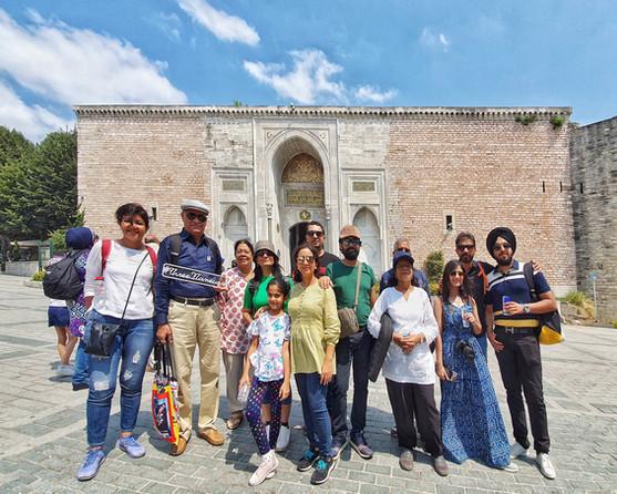 Group at Topkapı Palace