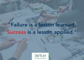 Failure and success – Why we should fail and fail fast