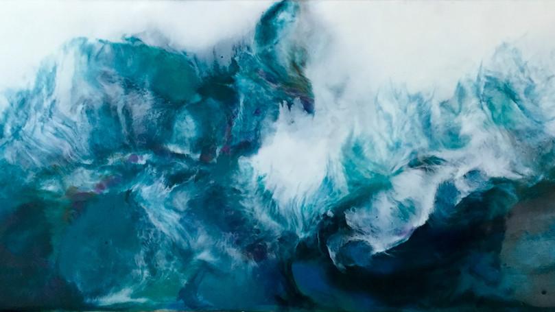 Turquoise Turbulence I