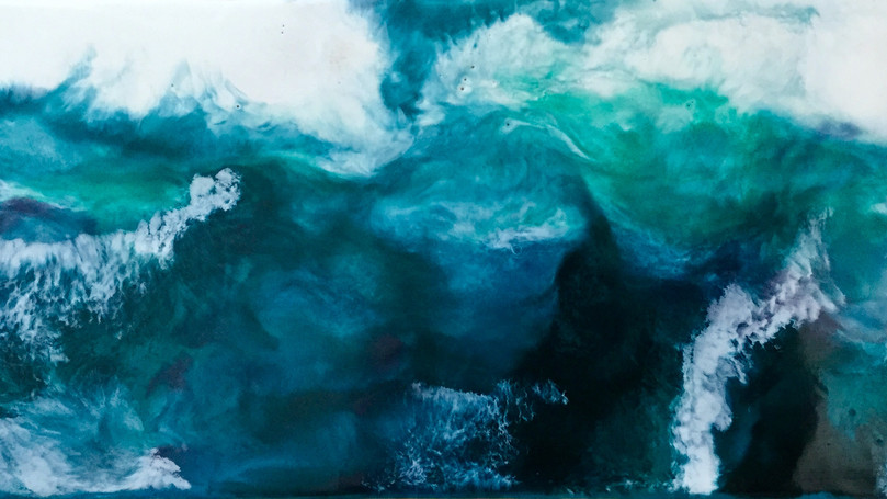 Turquoise Turbulence II