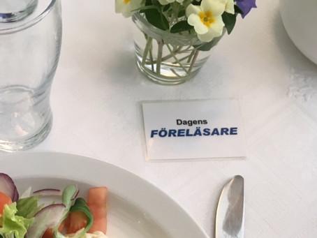 Lunch och föredrag på Rotary