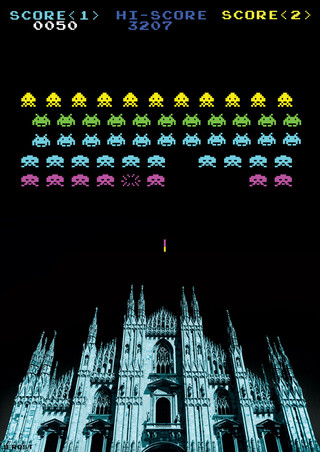 milano space invaders
