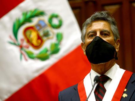 COLUMNAS | Carlos Escaffi [La Tercera]: Francisco Sagasti, el cuarto Presidente del quinquenio