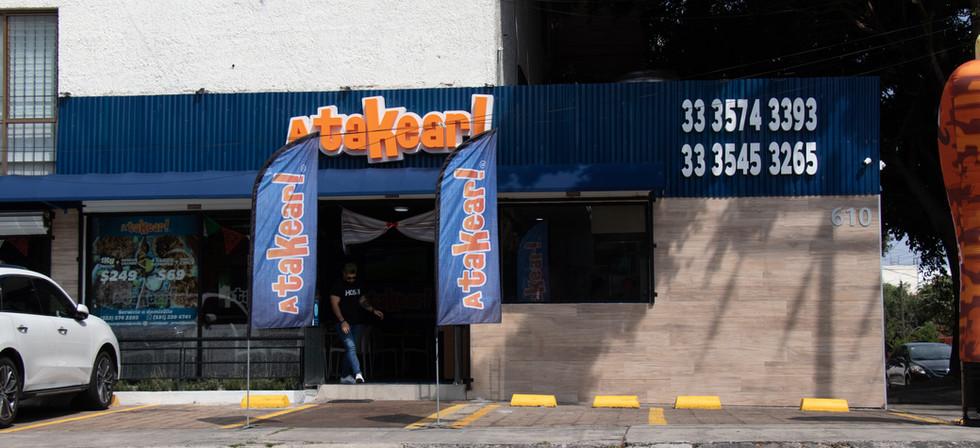 Atakear! Providencia, Guadalajara, Jalisco.
