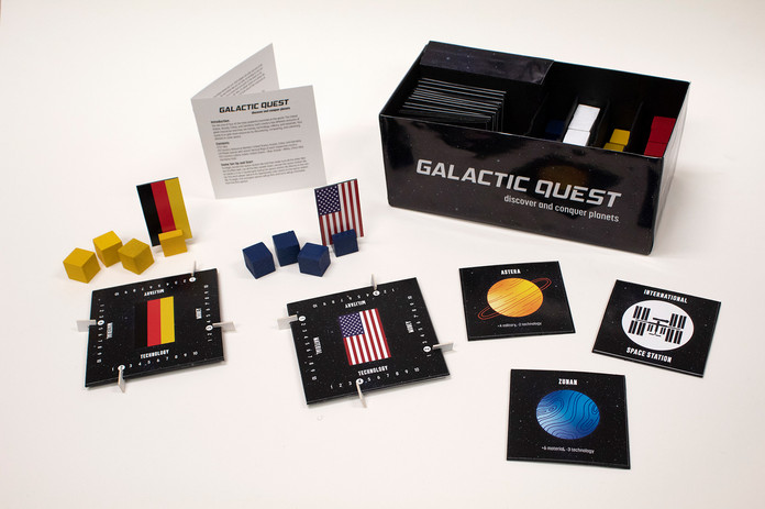 Game Pieces and Packaging