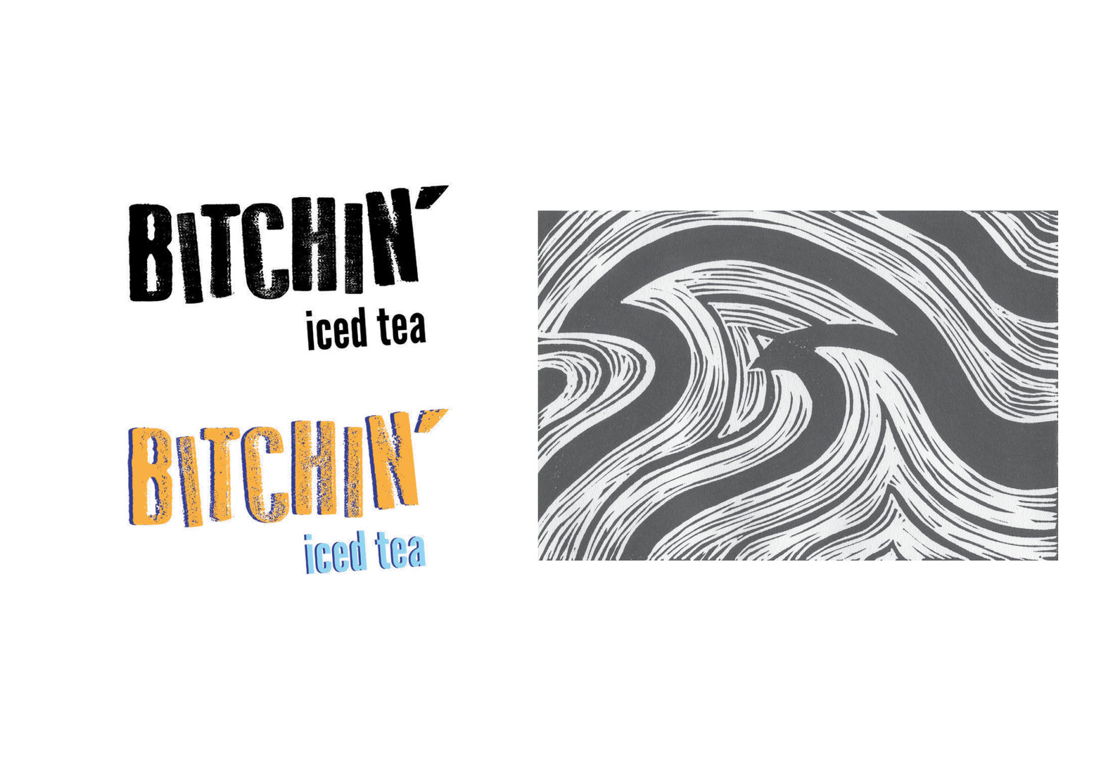 Bitchin' Iced Tea Branding