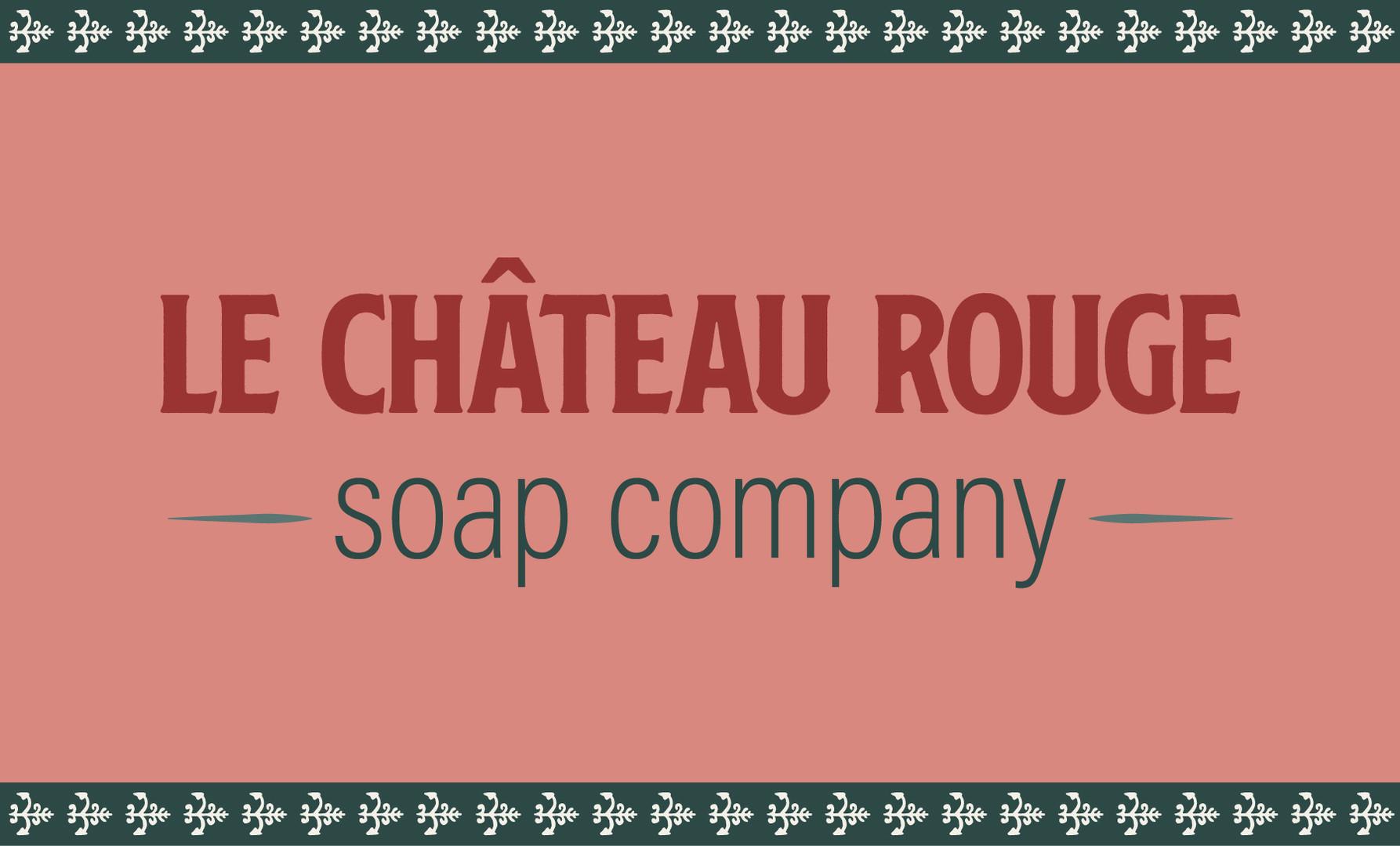 Le Chateau Rouge Branding Elements