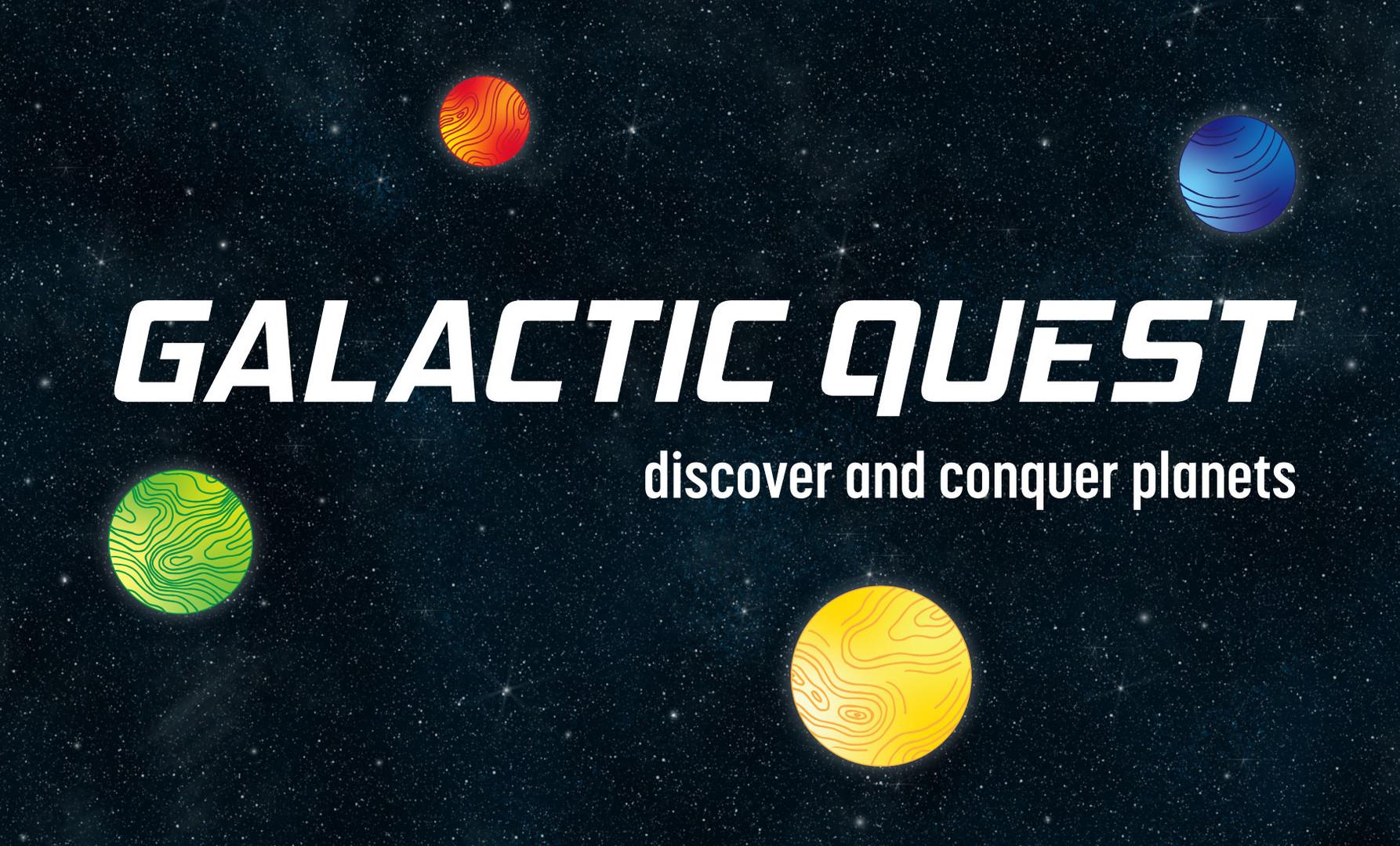 Galactic Quest Branding Elements