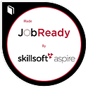 Made JobReady By Skillsoft Aspire Badge.