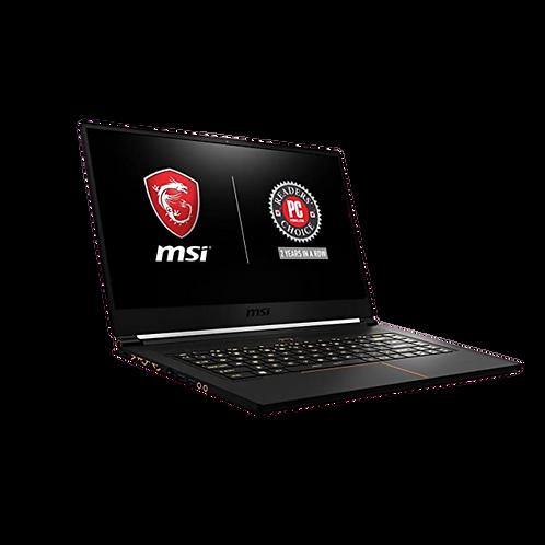 Msi Gs65 I7 9750 512ssd 16gb Nvidia Gtx 1660t 6gb 15.6 144hz