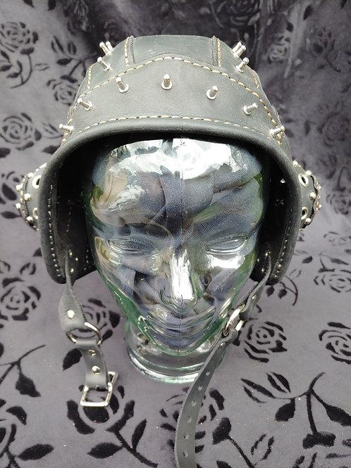 Metal-head Steampunk Aviator Helmet
