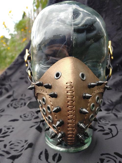 Jawbone Spiked Mask