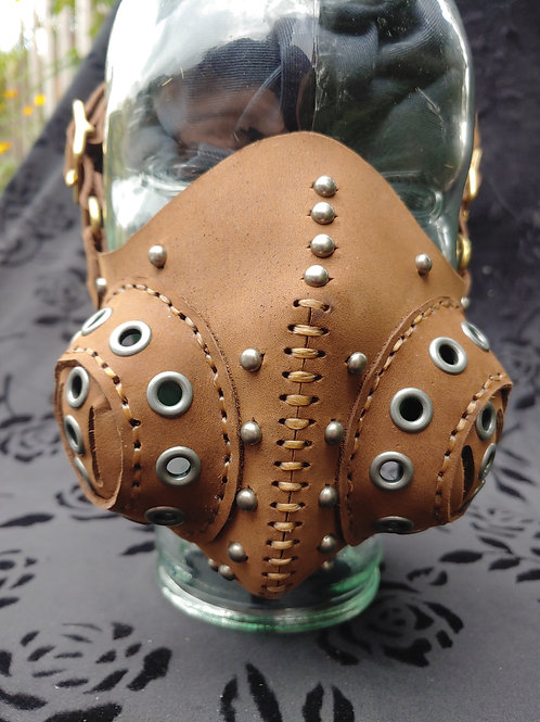 Steampunk Vented Face Mask