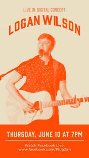 PlugZen Digital Concert Flyer