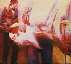 6e_JGood_White Light_Oil on canvas95x105cm