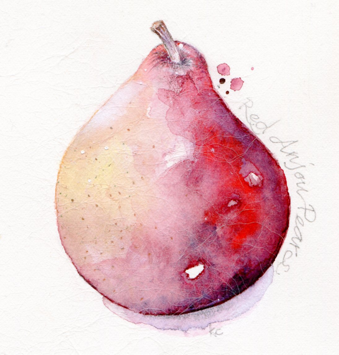 red pear001