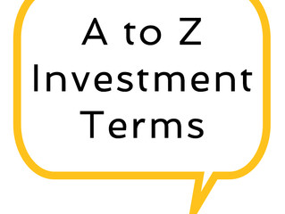 Glossary of investor terms