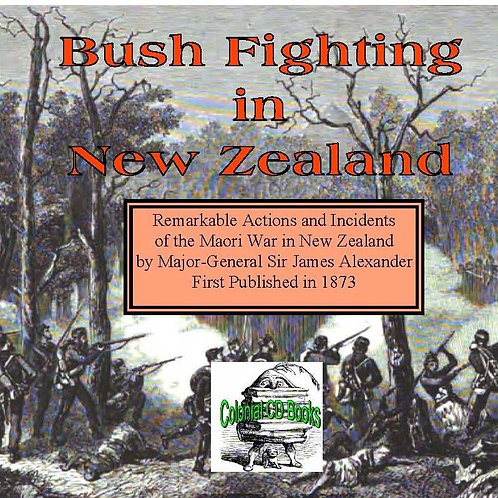 Bush fighting in New Zealand