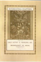 Interesting chapters From the Early History of Wanganui, 1847 and Wanganui in 18