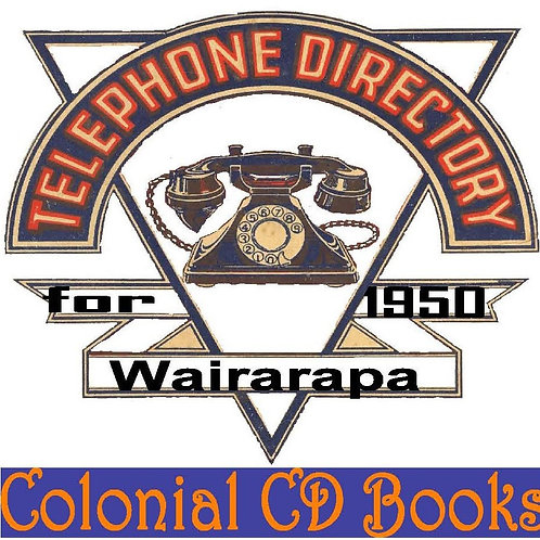 Wairarapa Telephone Directory for 1950