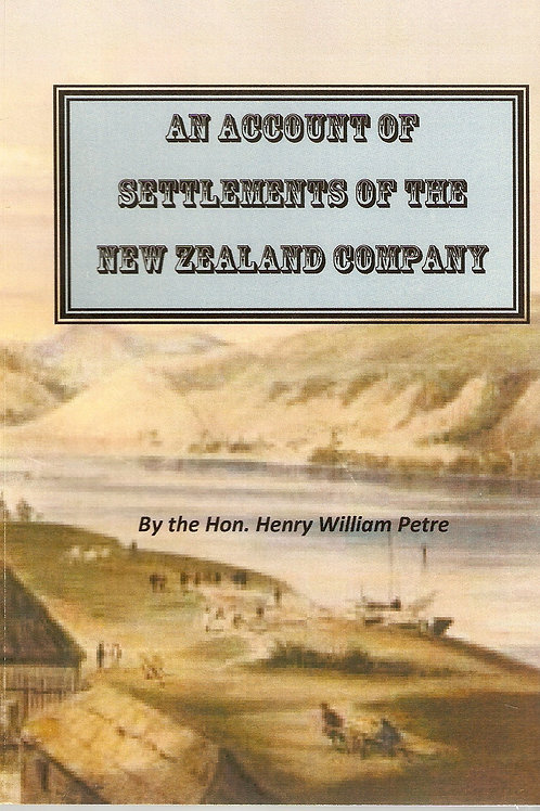 Settlements of the New Zealand Company, 1841