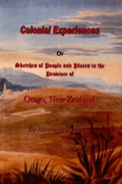 Colonial Experiences by Alexander Bathgate