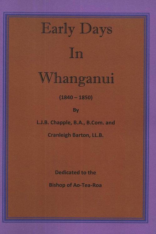Early Days in Whanganui 1840-1850