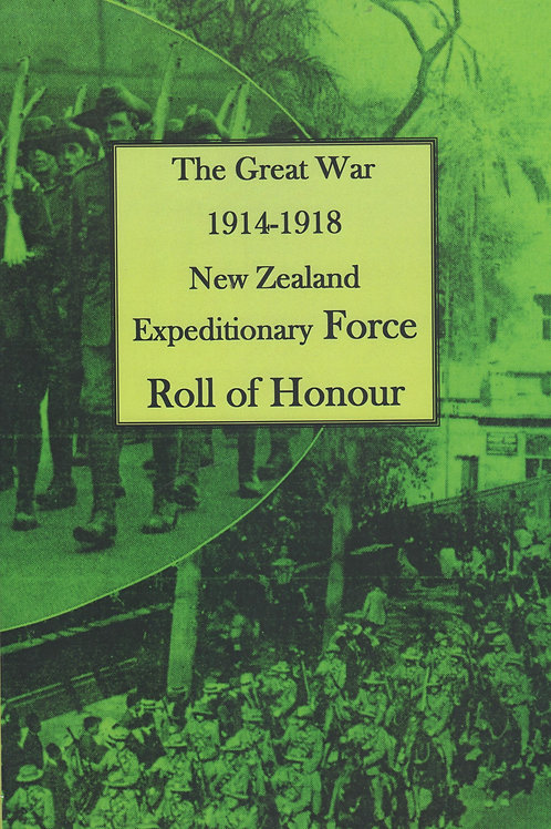 WWI NZEF Roll of Honour, 1924