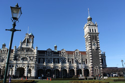 The Dunedin Railway Station