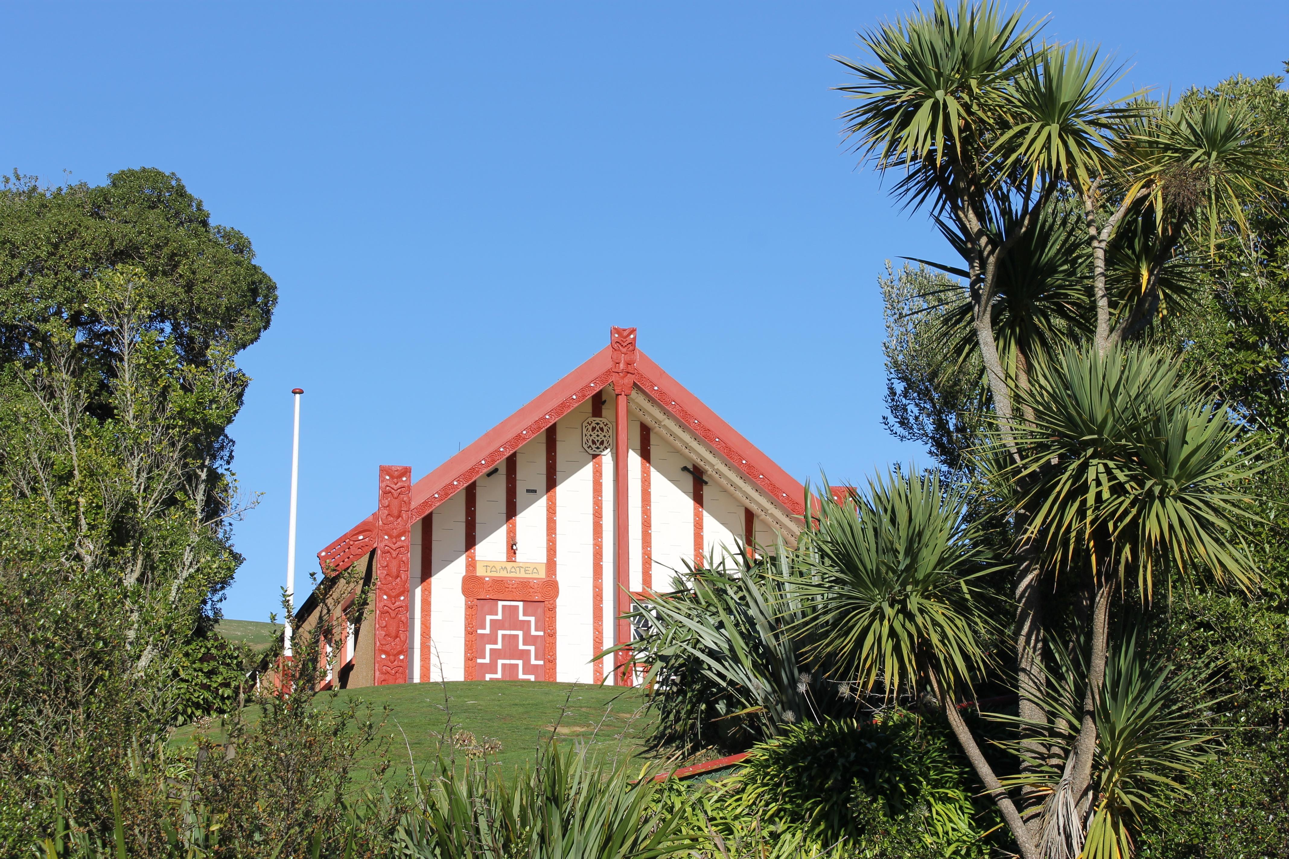 Otakou Maori marae