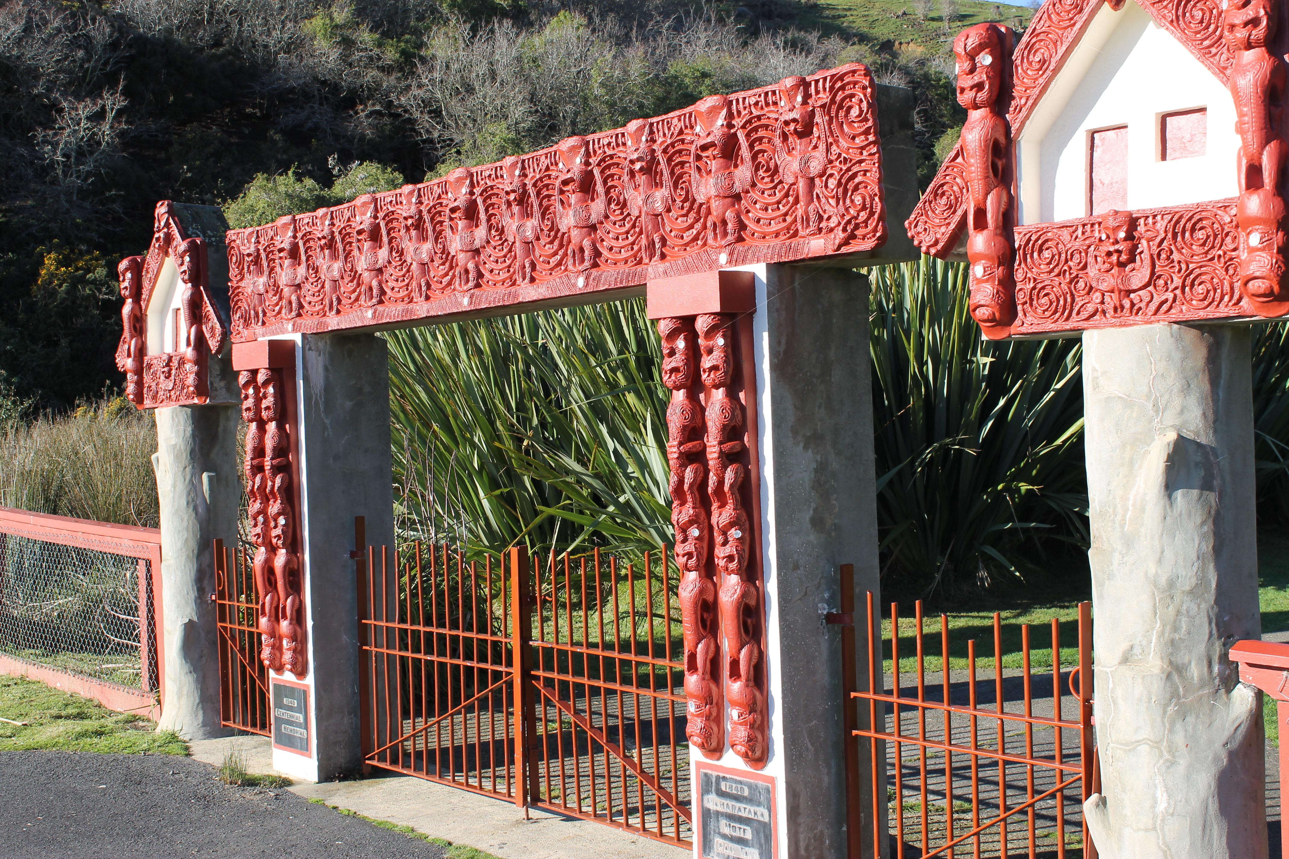 Marae Waharoa (gateway)