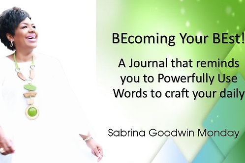 BE Your BEst! Journal
