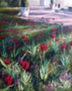 When In Bloom - 16 x 20 Acrylic On Hardboard - $450