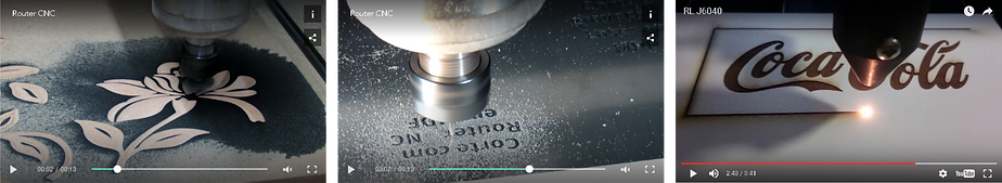 Videos da empresa Red Laser Tecnologia