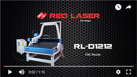 Red Laser Tecnologia - Video máquina CNC Router