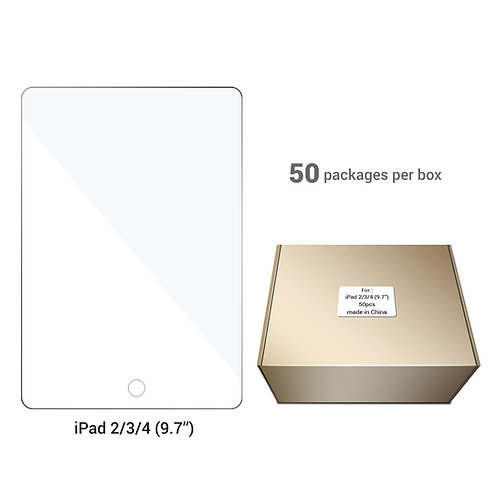 iPad Screen Protector - 50 pcs