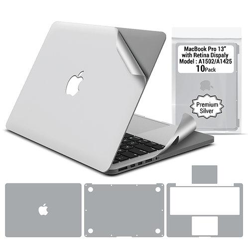 Premium full body skin for Macbook Pro 13'' 2012-2015 (10 packages per box)