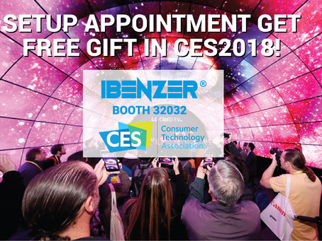 Join Us At CES 2018 For New Product Launches