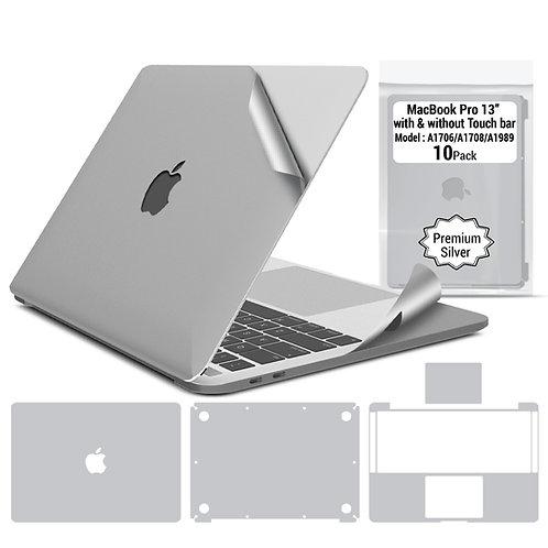 Premium full body skin for Macbook Pro 13'' 2016-2020 (10 packages per box)