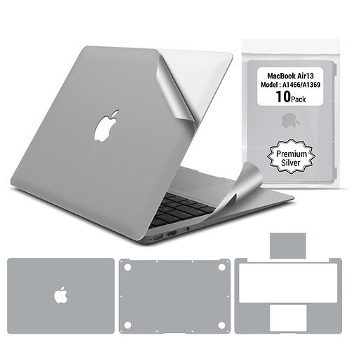 Full body skin for Macbook Air 13'' A1466 A1369 (10 packages)