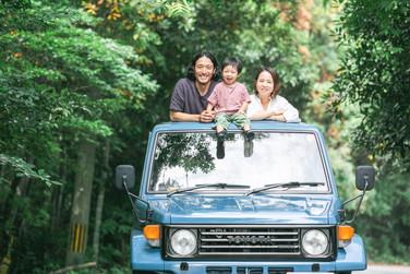 ロケーション出張撮影-家族写真