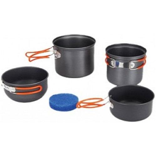 Tramp Набор посуды из  алюминия на 1-2 чел.TRC-075
