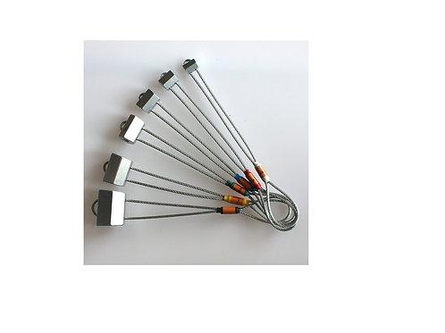 Набор закладных элементов (гекса) 6 шт Вертикаль