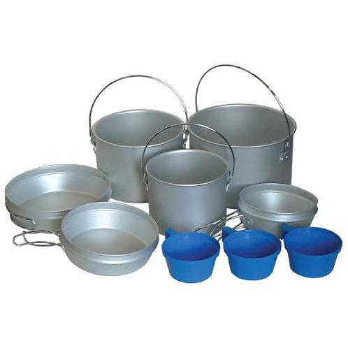 Tramp Комплект посуды. Алюминий TRC-002