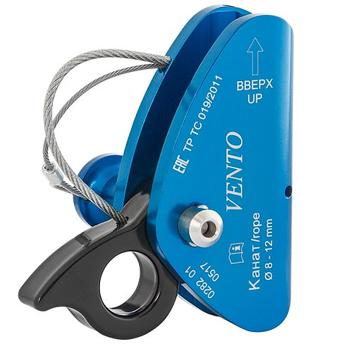 Зажим страховочный ПРОМАЛЬП V2 для верёвки 8-12 мм Венто