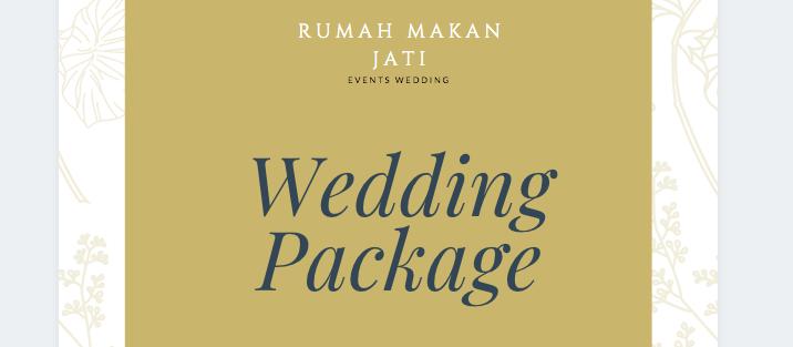 Wedding - All Area Booking Weekday