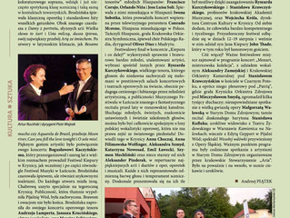Great review of the Final  Gala of Festival in Krynica Zdrój